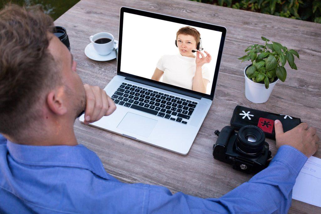 ビデオ面談、オンライン留学相談